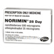 Norimin (Norethisterone (Norethindrone) and Ethinyloestradiol 0.5mg/0.035mg) Tablets