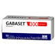 Gabaset (Gabapentin 300mg) 50 Capsules/Pack (Turkish)