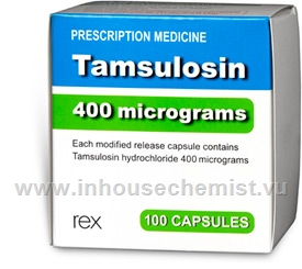 Tamsulosin 0.4mg 100 Capsules/Pack Rex