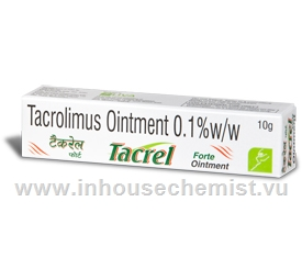 Tacrel Forte Ointment (tacrolimus 0.1%w/w) 10g/Tube
