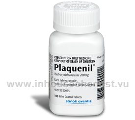 Plaquenil 200mg (Hydroxychloroquine Sulphate) 100 Tablets/Pack