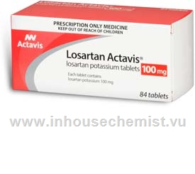 Losartan Actavis 100mg 84 Tablets/Pack