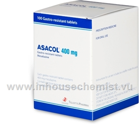 Asacol 400mg 100 Tablets/Pack