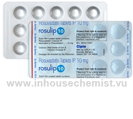 Rosulip 10 15 Tablets/Strip