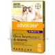 Advocate for Cats over 4kg 3 Tubes