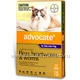 Advocate for Cats over 4kg 6 Tubes