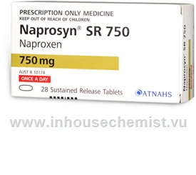 Naprosyn SR (Naproxen 750mg) 28 Tablets/Pack