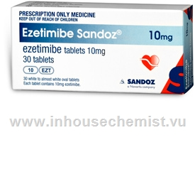 Ezetimibe (Ezetimibe 10mg) 30 Tablets/Pack