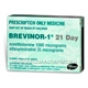 Brevinor 1 (Norethisterone (Norethindrone) and Ethinyloestradiol 1mg/35mcg) Tablets