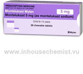 Montelukast Mylan 5mg 28 Tablets/Pack