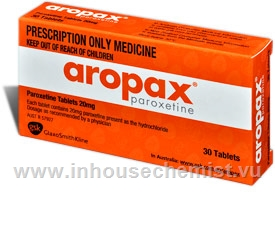 Aropax 20mg 30 Tablets/Pack