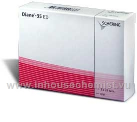 Diane-35 ED, 84 Tablets/Pack