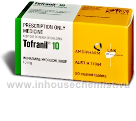 Tofranil 10mg 50 Tablets/Pack