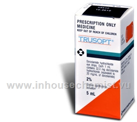 Trusopt 2% Eye Drops 5ml/Pack