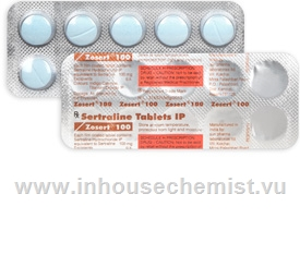 Zosert 100mg 10 Tablets/Strip