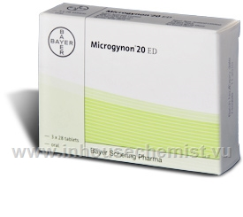 Microgynon 20ED 84 Tablets/Pack