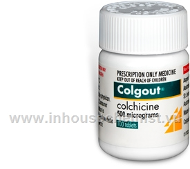 Colgout (Colchicine 0.5mg) 100 Tablets/Pack