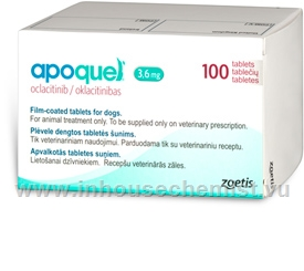 Apoquel (Oclacitinib 3.6mg) 100 Tablets/Pack