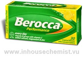 Berocca Performance Tropical 30 Tablets/Pack
